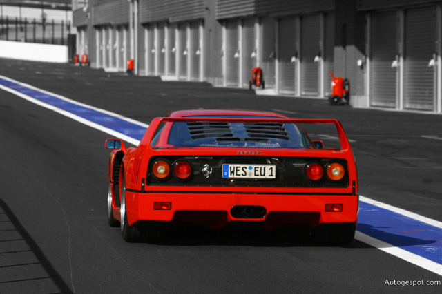 Ferrari F40 This picture is taken by a member of the Autogespot-crew.