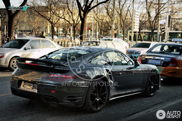 Porsche 991 Turbo spotted testing with almost no camouflage