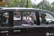 A Royal Ride: Queen Elizabeth II spotted in London