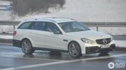 Dat wordt wennen: Mercedes-Benz E 63 AMG Estate S212 2013