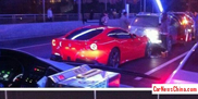 First Ferrari F12berlinetta crash in the world