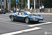 Spotted: Ferrari Dino 246 GTS in Blue Tour de France