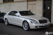 Goede finishing touch gegeven: Maybach 57 door Project Kahn