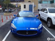 Very desirable blue Maserati GranTurismo S spotted in Dubai