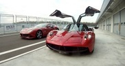 Have your choices: Huayra or F12berlinetta?