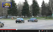 Movie: Lexus IS-F drifts in Moscow