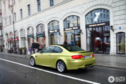 BMW M3 Coupé spotted in the colour Phoenix Yellow