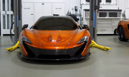 McLaren P1 shows up at Lake Forest Sports Cars in Lake Bluff Illinois