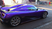 Flashy colours for the new Koenigsegg Agera R Zijin