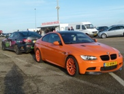 BMW M3 E92 is very orange!