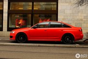 Audi RS6 Sedan C6 looks awesome in matte red