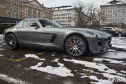 The first Mercedes-Benz SLS AMG GT is now spotted!