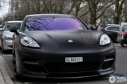 Black beauty: Porsche Panamera Turbo Techart