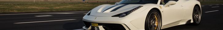 La remière Ferrari 458 Speciale au Pays-Bas !