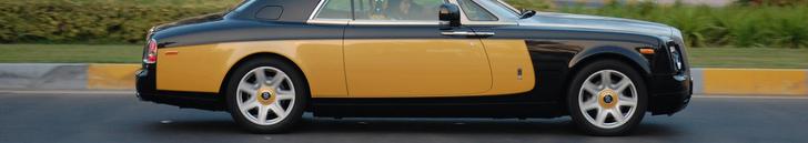 Gespottet: Rolls-Royce Phantom Coupe Baniyas Gold & Baniyas Black