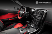Carlex Design equips the Corvette C6 with new leather and alcantara!