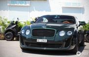 Dunkelgrüner Bentley Continental Supersports sieht großartig aus