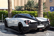 Famous Pagani Huayra shows up in Dubai