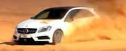 Movie: A45 AMG feels at home in the Sahara