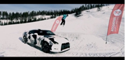 Movie: Nissan GT-R on the ski slopes