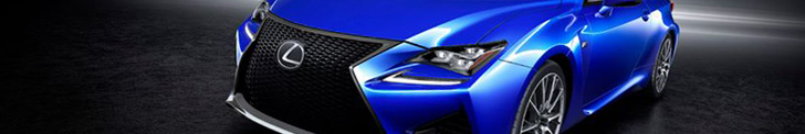 Japanese power: Lexus RC F Coupe!