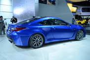 Lexus RC F looks amazing in real life!