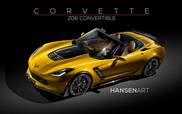 Rendering makes the Corvette C7 Stingray Z06 very desirable