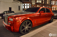 Rolls-Royce Phantom looks like a driving Christmas ball