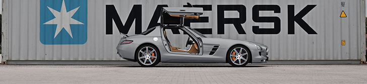 Photoshoot: Mercedes-Benz SLS AMG!