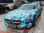 Wieso lässt man seinen SLS AMG so aussehen?
