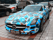 Why would you make your SLS AMG look like this?