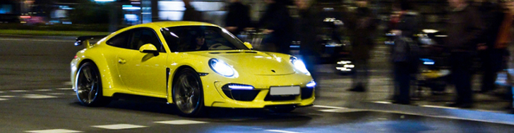Yellow TopCar Stinger shines in Barcelona