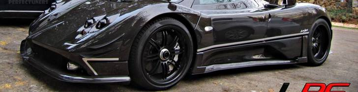 The Pagani Zonda 760RS is finally spotted!