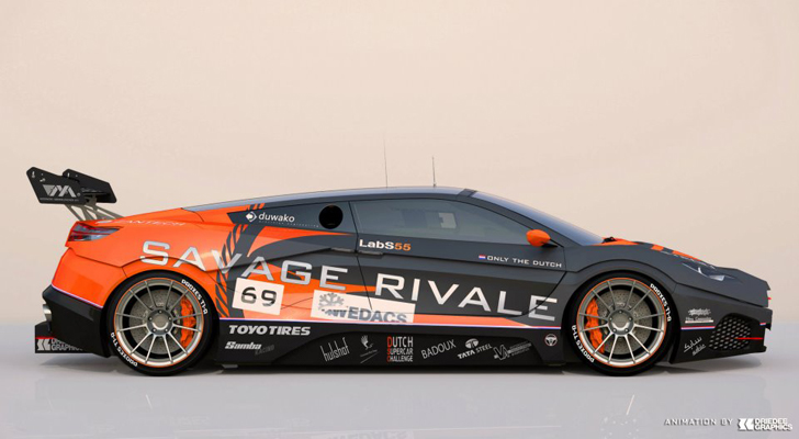 Savage Rivale goes wild: GTR-racer!