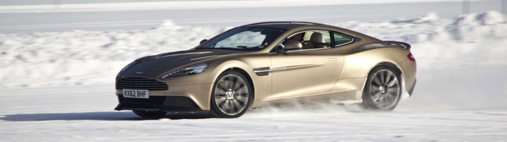 Special: Aston Martin On Ice 2013