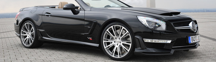 Brabus turns the Mercedes-Benz SL 65 AMG into a rocket!