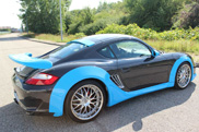 Just keep it in France: Porsche Cayman by Jacquemond