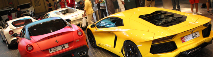 Gotta catch 'em all: outrageous combo in Dubai!