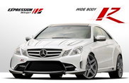 Mercedes-Benz E-Klasse Coupé mishandeld door Expression Motorsport