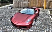 Elite Wrap gives the Ferrari F430 a unique wrap