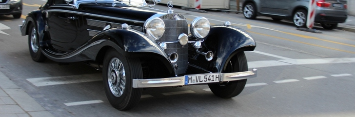 Mercedes-Benz' true piece of art: 540K Spezial-Roadster