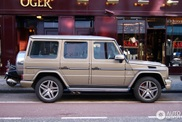 Spotted: beautiful coloured Mercedes-Benz G 63 AMG