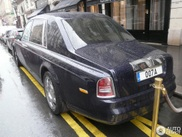 Special Rolls-Royce Phantom Jankel spotted in Paris