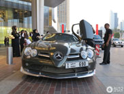 Strange sighting: Mercedes-Benz SLR McLaren
