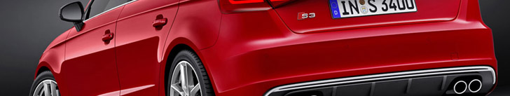The Audi S3, now also available as a Sportback!