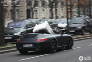 Porsche 997 Carrera S Convertible, ideal for moving furniture!
