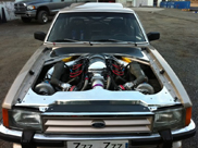 Does a Koenigsegg engine fit in a Ford Granada? Yes it does!