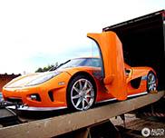 Topspot in Brasilien: Koenigsegg CCXR E100 Platinuss Special