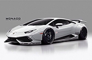 Lamborghini Huracán with Liberty Walk bodykit is simply mental