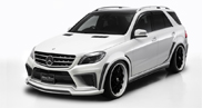 Mercedes-Benz ML-Class is tuned by Wald International